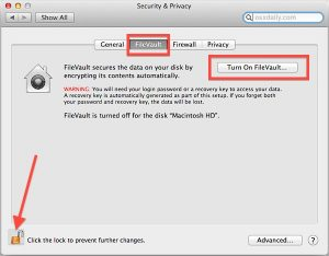 Password-Protecting your entire Mac