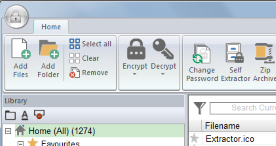Encrypting multiple files